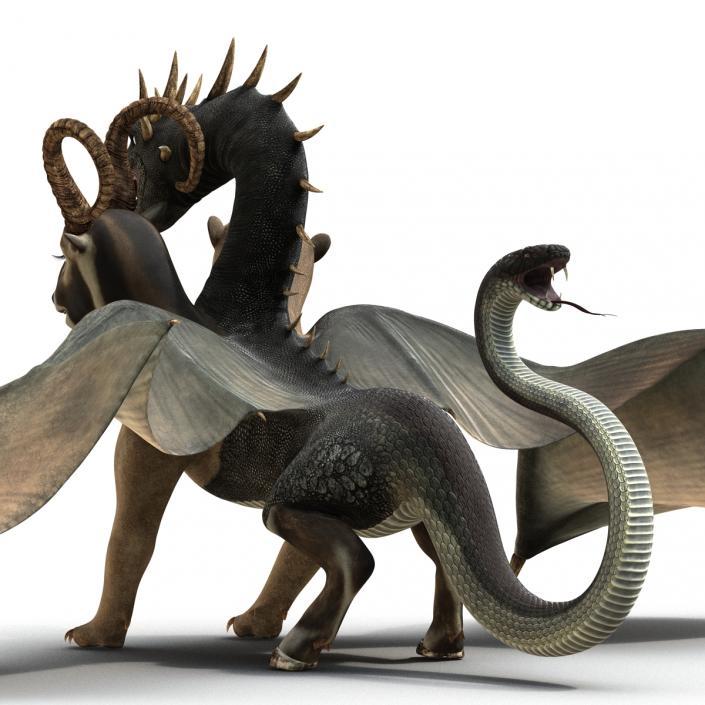 Chimera 3D model   3D Molier International