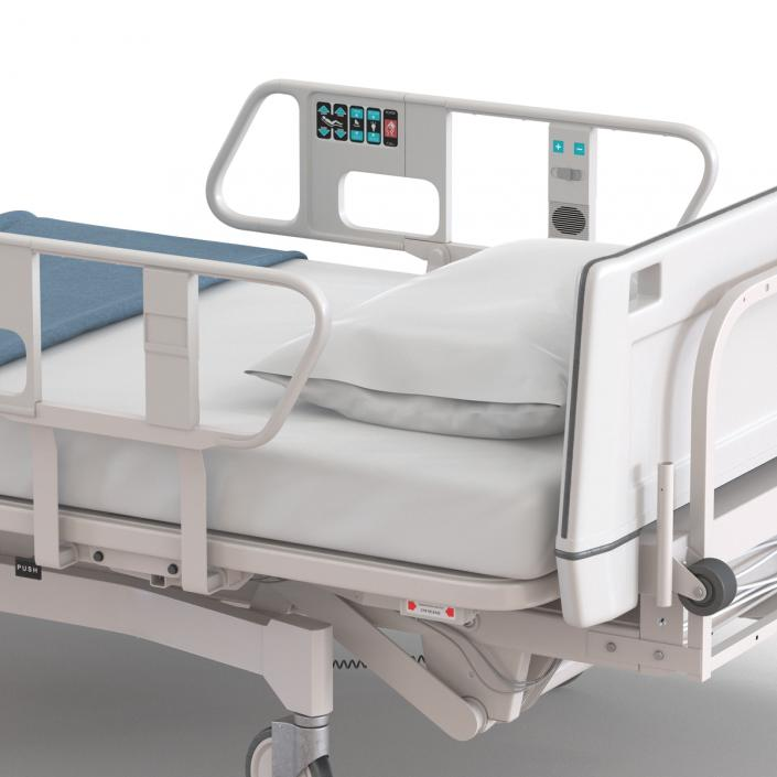 Hospital Bed 3D
