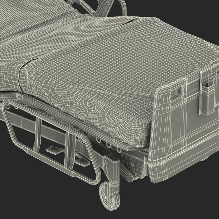 Hospital Bed 2 3D model