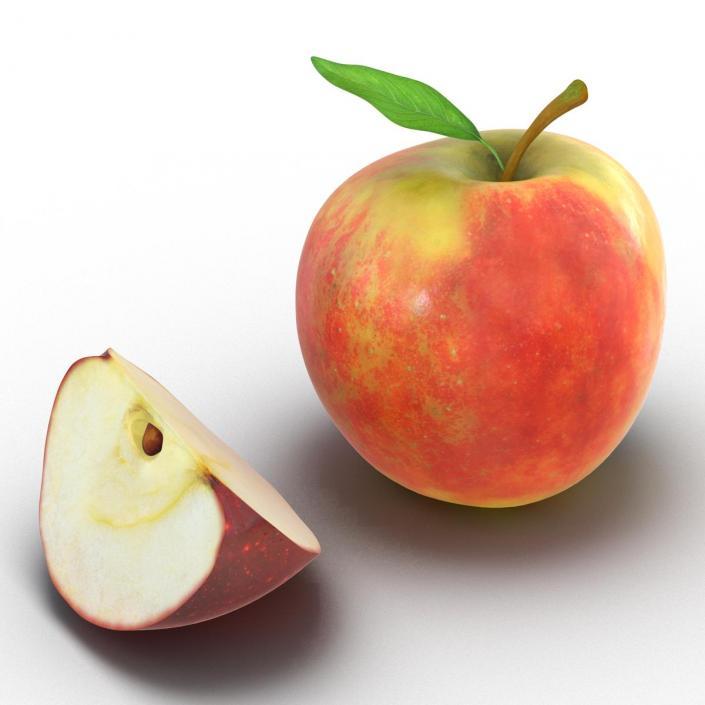 Apple Fruit Collection 3D
