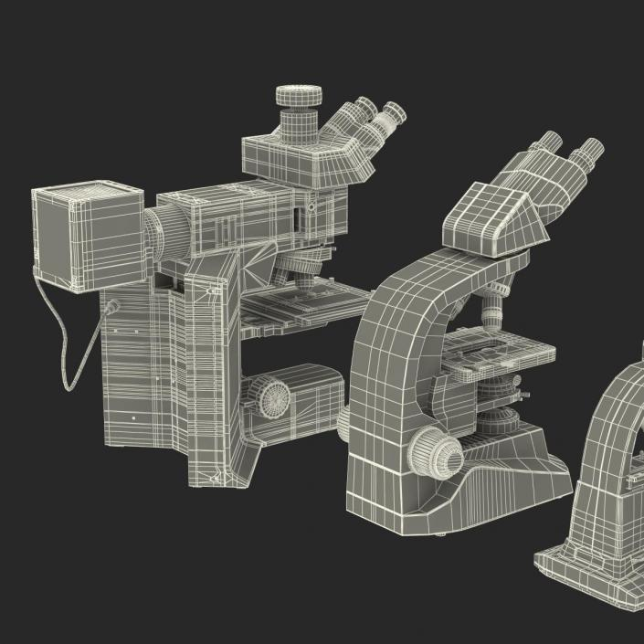 Microscopes Collection 3D