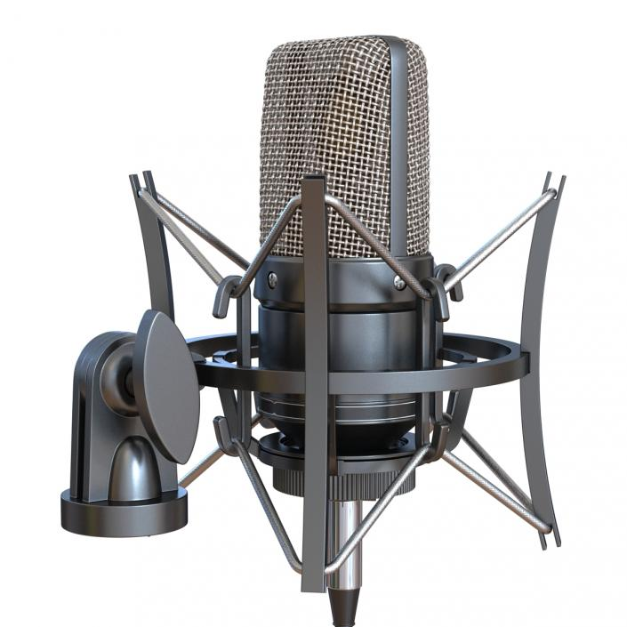 3D Condenser Microphone Generic model