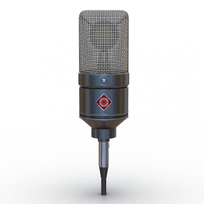3D model Condenser Microphone Generic 3