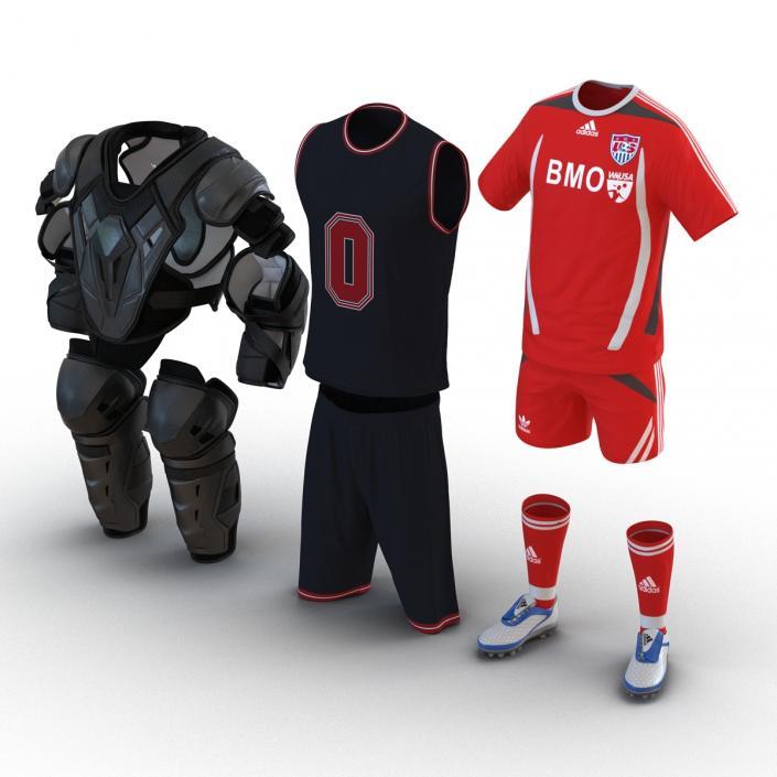 Sport Clothes 3D Models Collection 3D model | 3D Molier