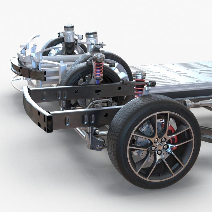 3D Chassis Collection model