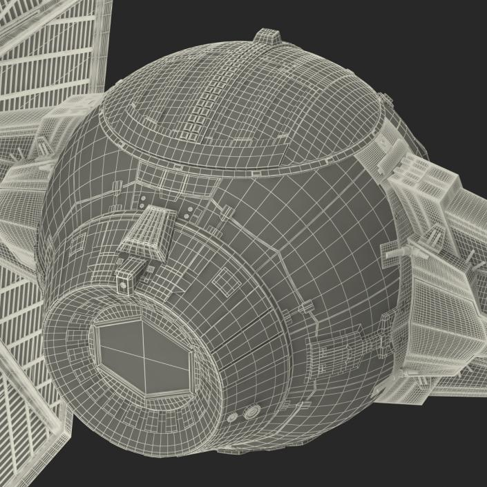 3D Star Wars Tie Fighter