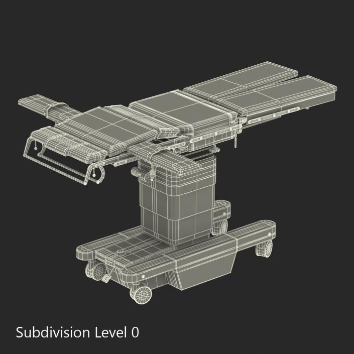Universal Operating Table OPT 3D model