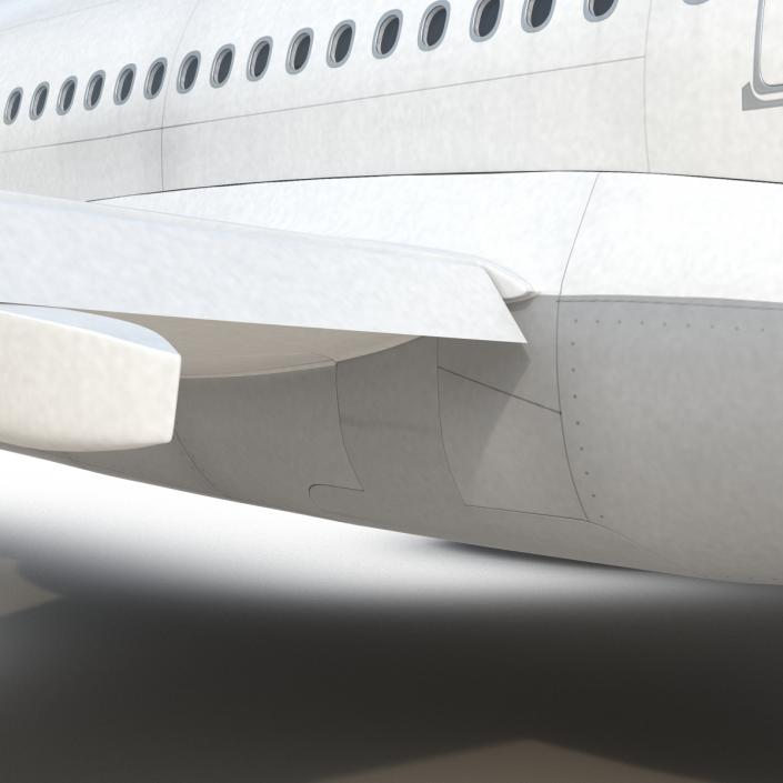 3D model Jet Airliner Airbus A330-200 Lufthansa Rigged