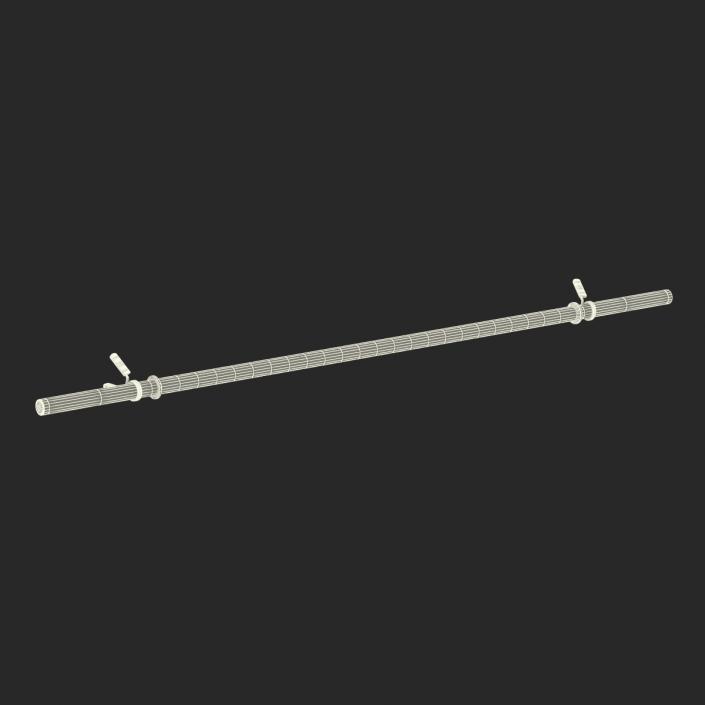Barbell 3 3D model