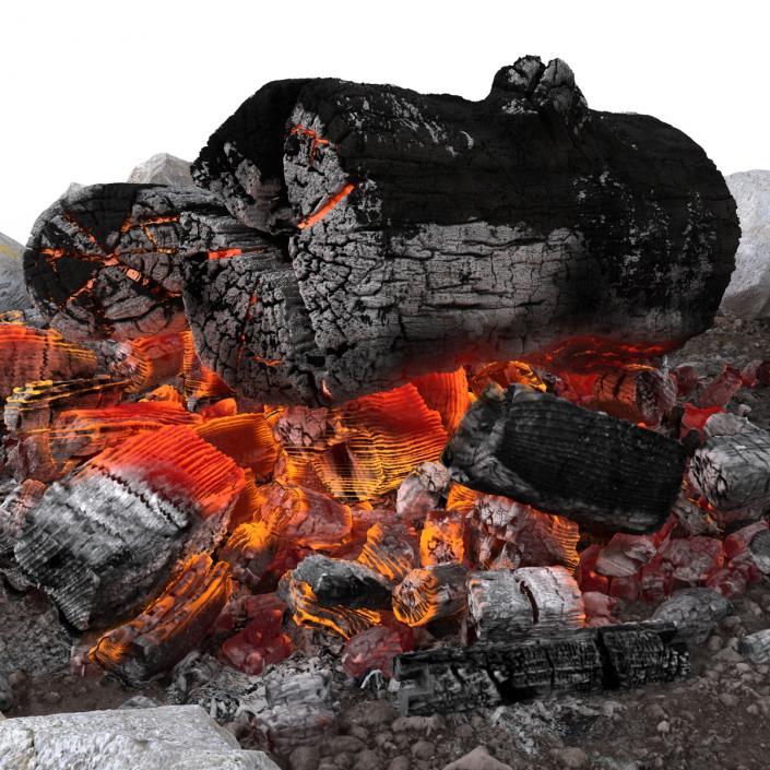 Campfire Pit 3D