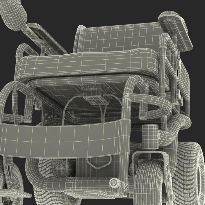 3D Powered Wheelchair model