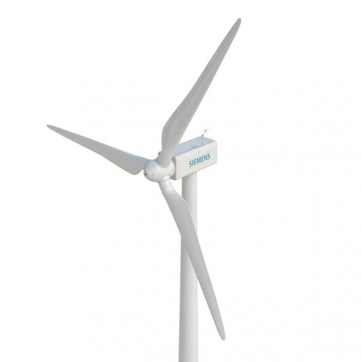 3D model Wind Turbine Siemens