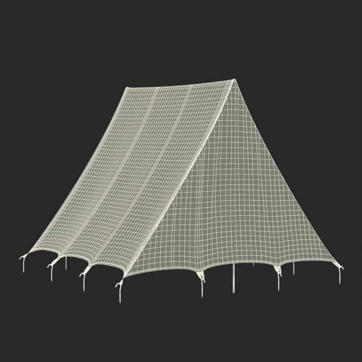 Camping Tent 2 3D model