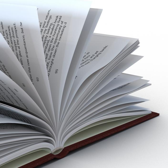 3D Open Book 4