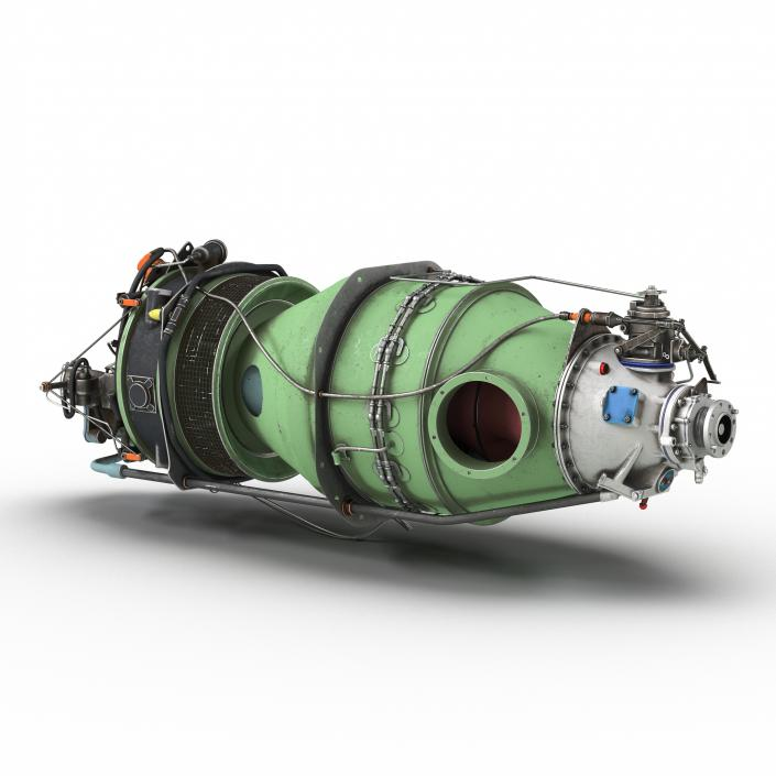 Used Turboprop: Turboprop Aircraft Engine Pratt And Whitney Canada PT6 3D