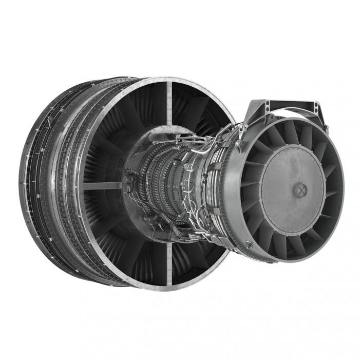 Turbofan Aircraft Engine 3D model | 3D Molier International