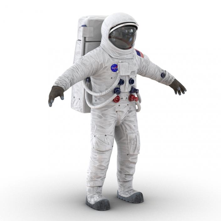 3D A7L Apollo and Skylab Spacesuit