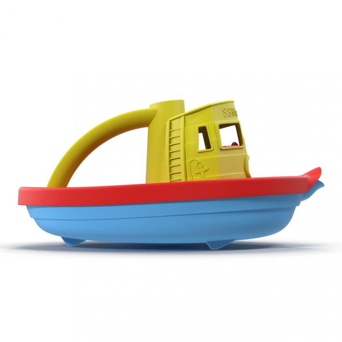 3D Tugboat Bath Toy | 3D Molier International