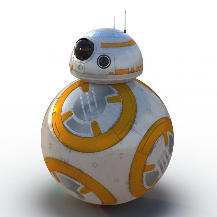 Star Wars BB 8 3D model