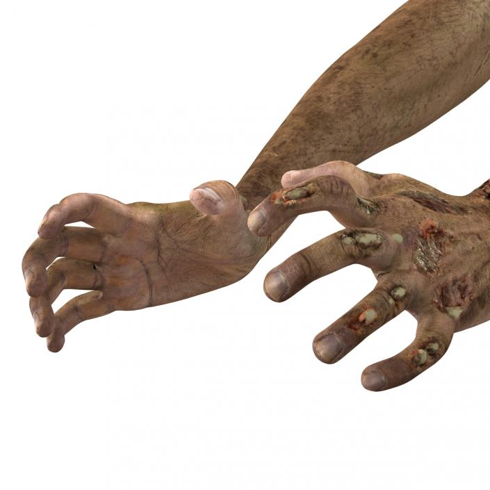 Hand Statue 3d Model
