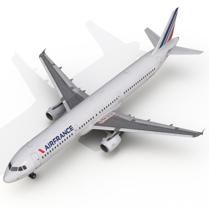 Airbus A321 Air France 3D