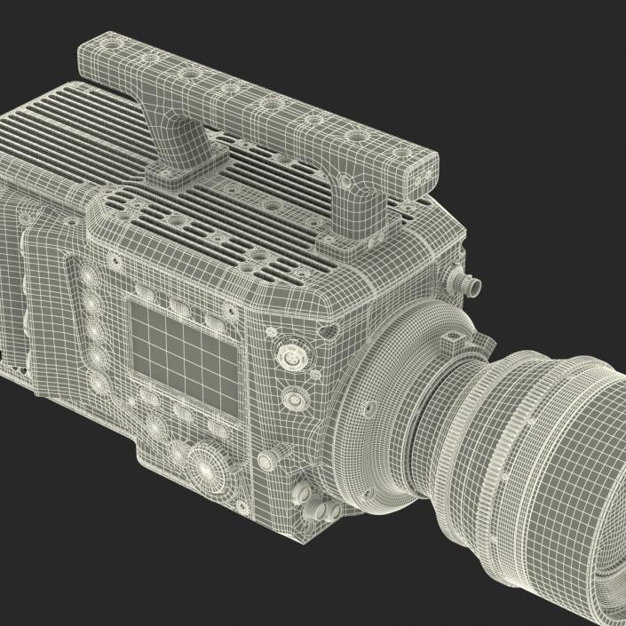 3D model High Speed Digital Camera Phantom Flex4K