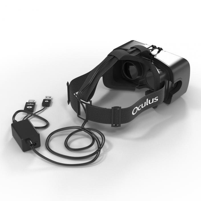 3D Oculus DK2 Development Kit