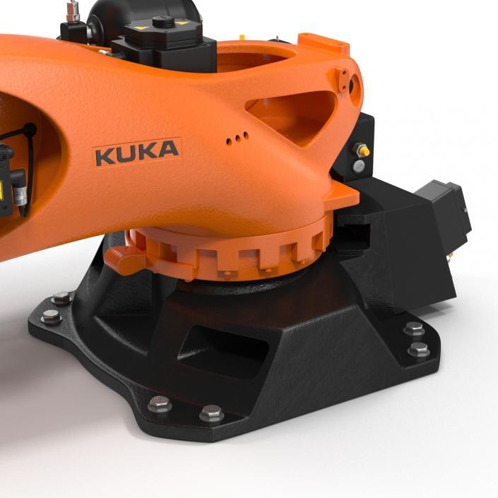 Kuka Robot KR QUANTEC Ultra Rigged 3D model