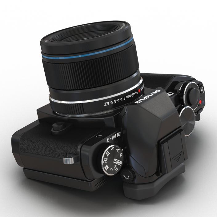 3D Olympus OM-D E-M10 Mark II
