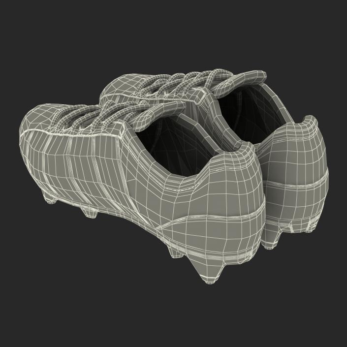 3D model Football Boots 2 Red
