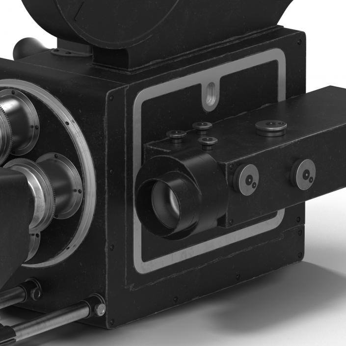 3D model Vintage Video Camera