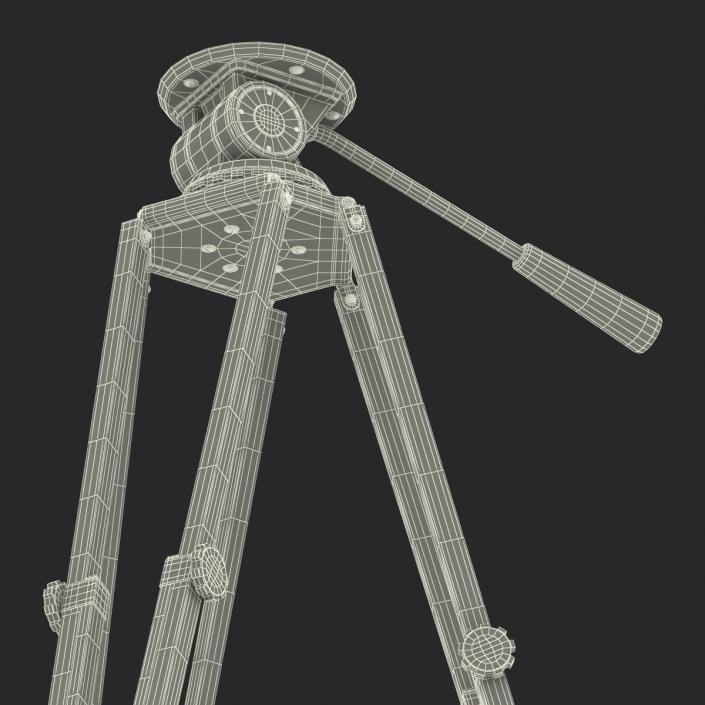 3D Vintage Camera Tripod
