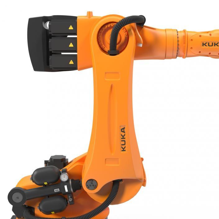Kuka Robot KR-600 FORTEC 3D model