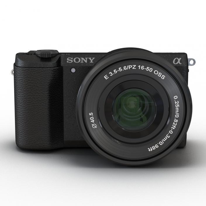 3D Sony Alpha 5100 Black