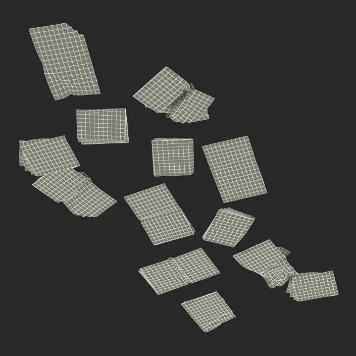3D Newspaper Litter