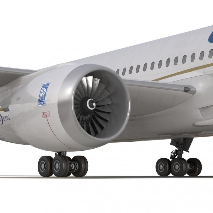 Boeing 787-3 Dreamliner United Airlines 3D model