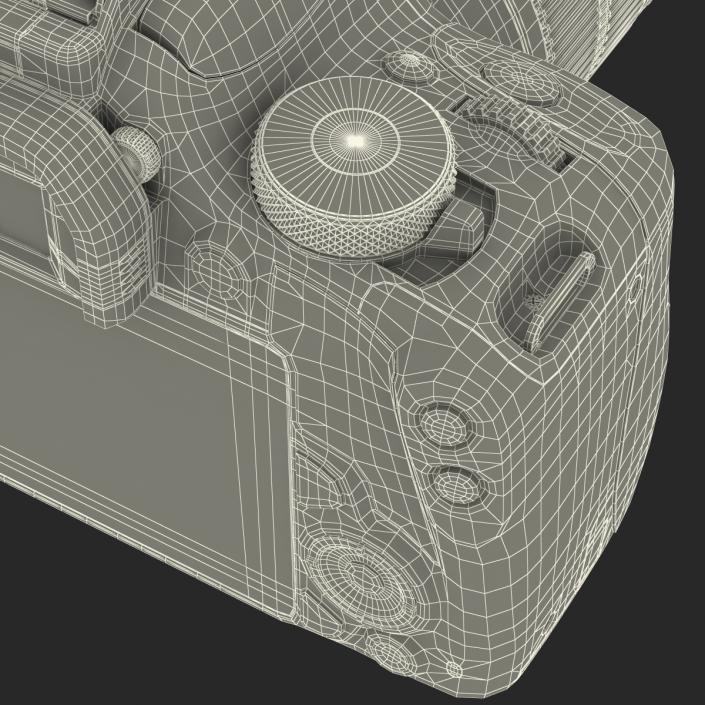 Canon EOS 100D 3D model