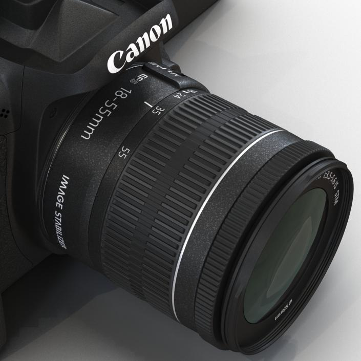 Canon EOS 750D 3D model
