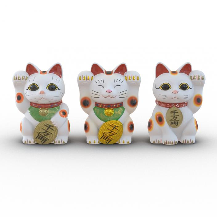 Maneki Neko Collection 2 3D model