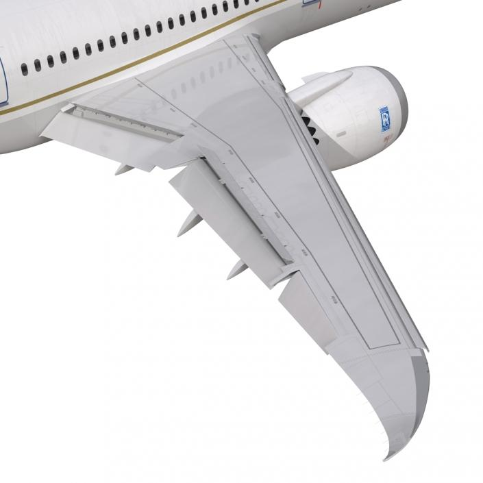 3D model Boeing 787-9 Dreamliner United