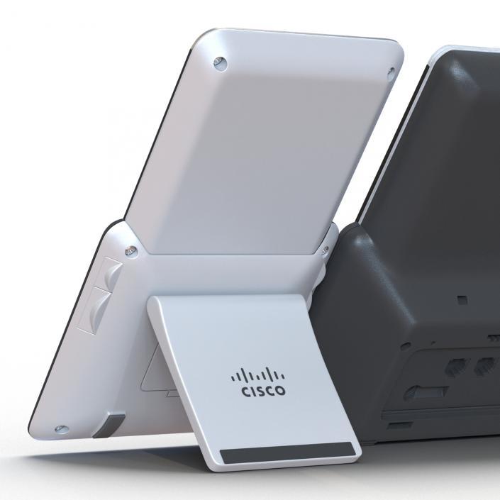 3D model Cisco IP Phone 8861 and Expansion Module   3D