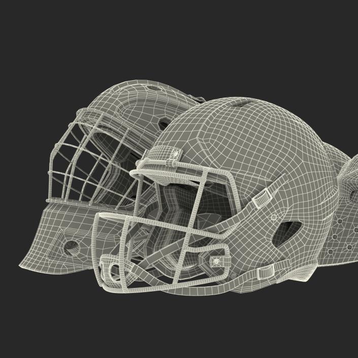 3D Sport Helmets Collection 2