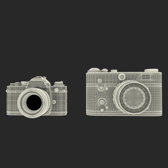 3D Vintage Cameras Collection