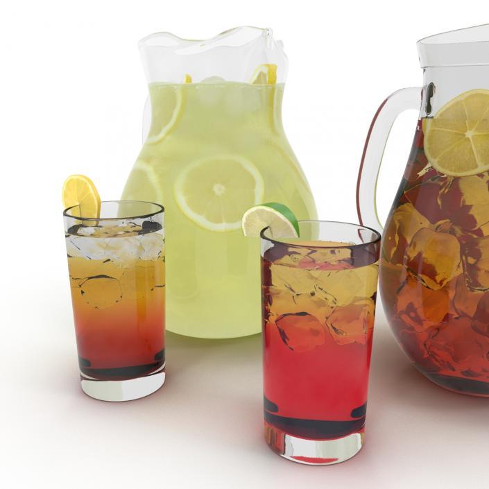 3D model Beverages Collection