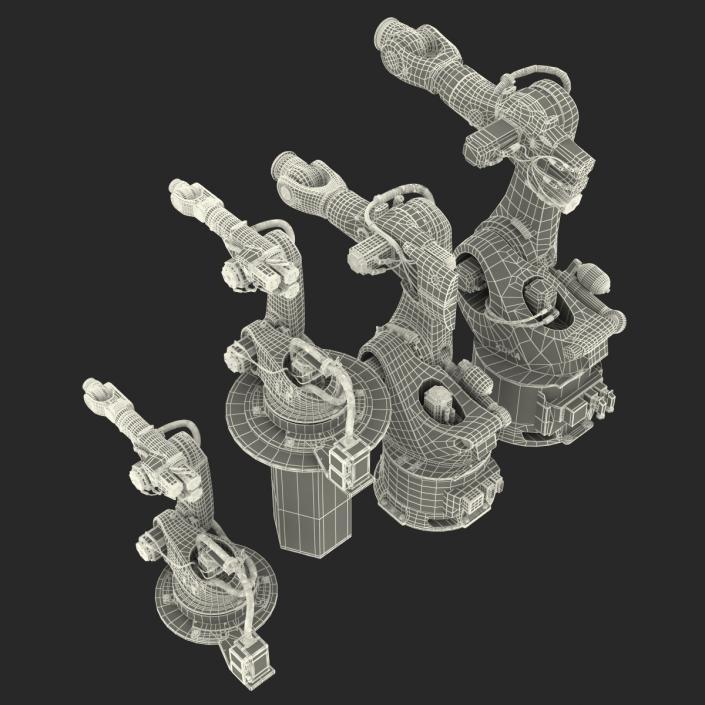 Kuka Robots Collection 4 3D model