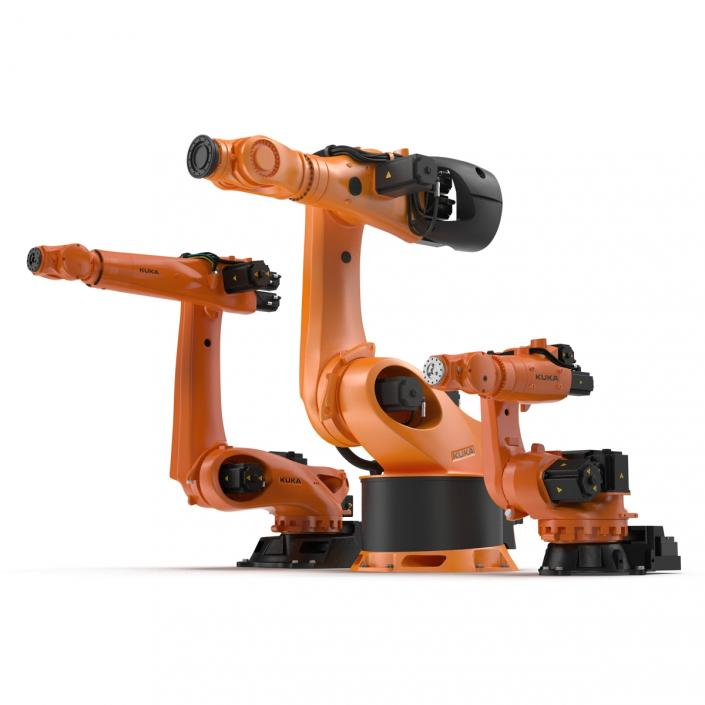Kuka Robots Collection 5 3D model
