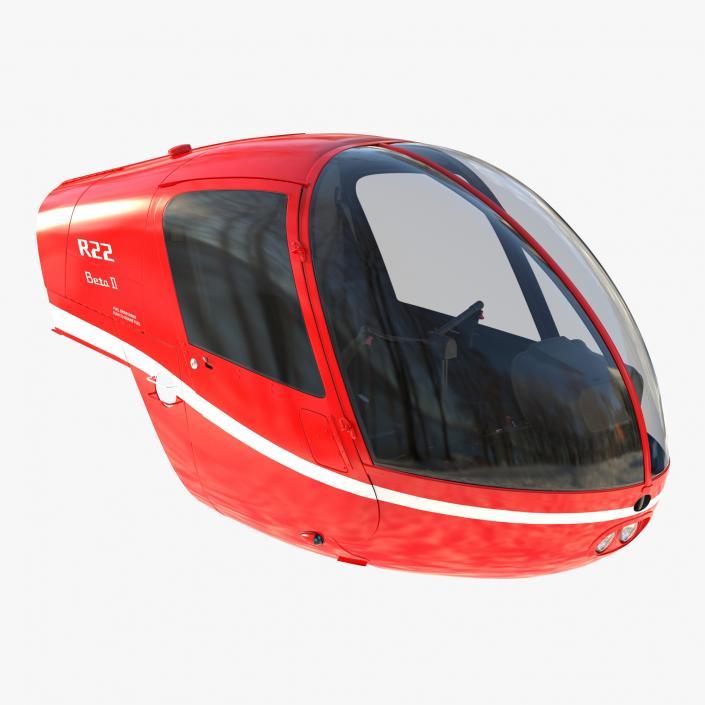 Light Helicopter Cockpit 3D model | 3D Molier International