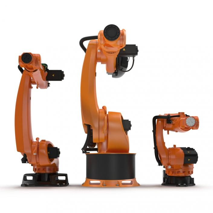 Kuka Robots Collection 6 3D model