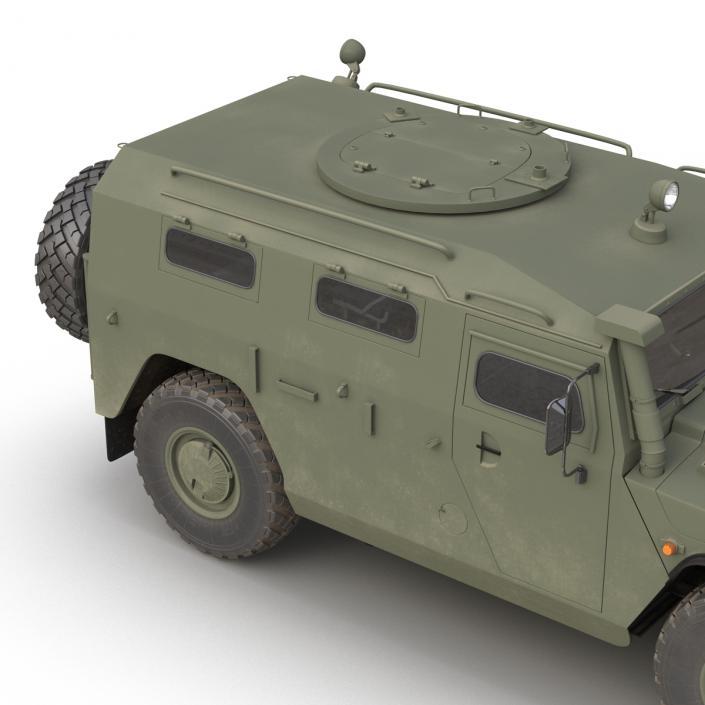 3D model Russian Mobility Vehicle GAZ Tigr M