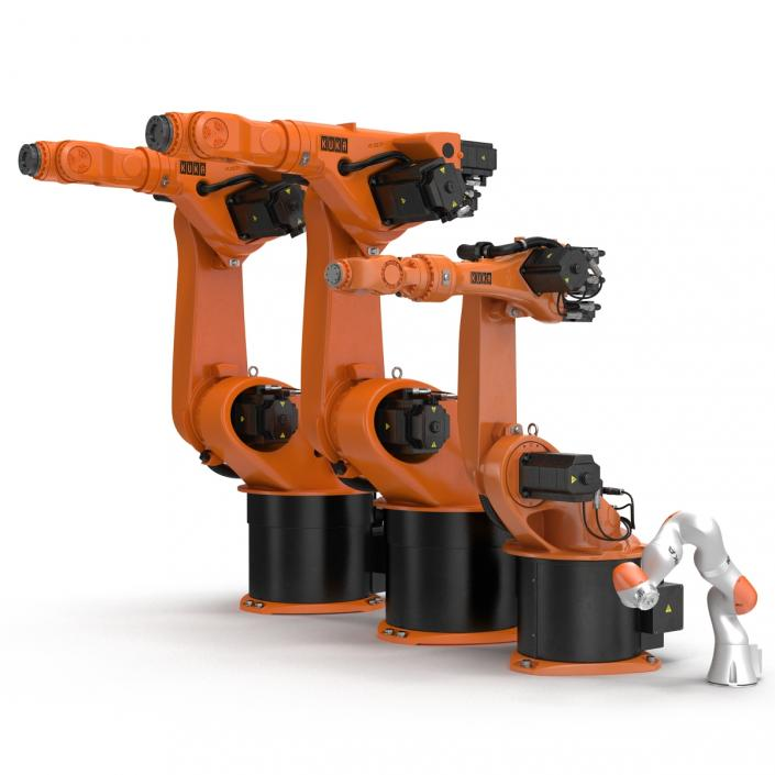 Kuka Robots Collection 7 3D model